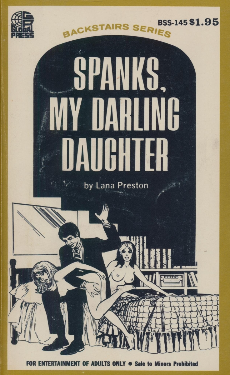 BSS-145 Spanks, My Darling Daughter by Lana Preston (EB)